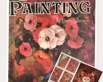 Artist book, Creative Painting by Lenore Sherman