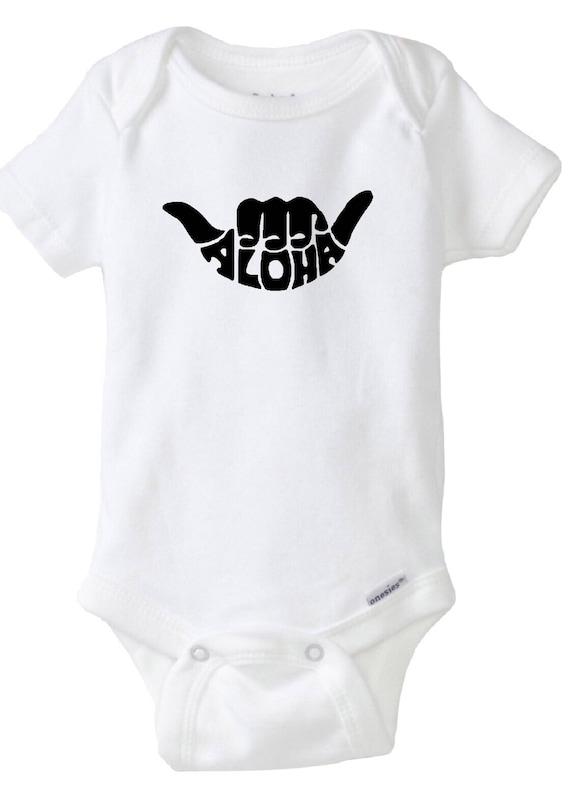 Hawaii Baby Onesies®, Aloha Boy Baby Onesies®, Baby Bodysuit, Hawaii Baby, Island Baby, Surfer boy, Hang Loose, Beach Baby, Baby Shower Gift