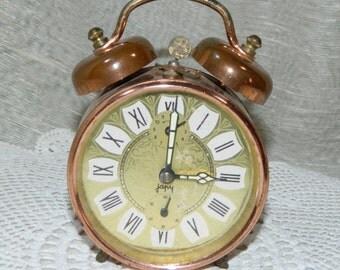 Alarm clock JAPY VINTAGE, old french Clock vintage mechanical
