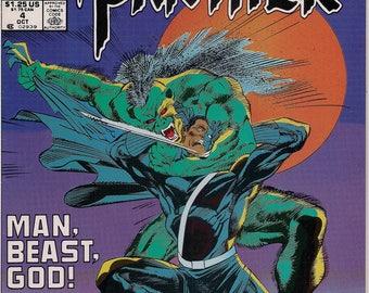 Marvel Comics,BLACK PANTHER, Mini 4 of 4,Dec 1991,T'Challa, Wakanda,Denys Cowan,pre-reform apartheid South Africa,Marvel Cinematic Universe