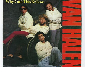 Van Halen - Why Can't This Be Love / Get Up - 45rpm - 1986