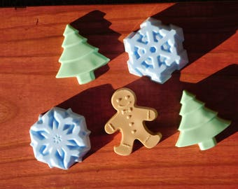 Ally's Holiday Soaps
