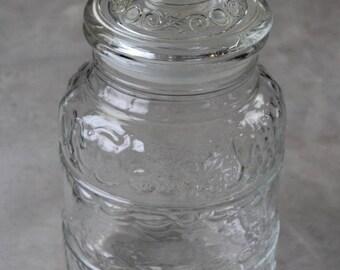 Large Italian Glass Jar