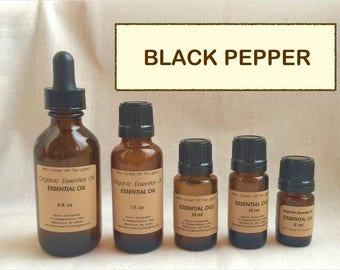 Essential Oil: Black Pepper (Organic)