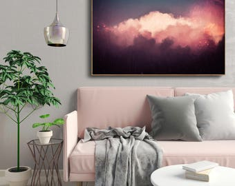 Abstract Art , Abstract Painting , Contemporary Art , Cloud Painting , MODERN ART PRINT