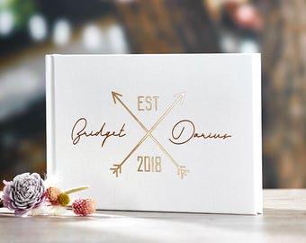 Wedding Guest Book Alternative Custom Wedding Guestbook Rustic Guest Book Unique Wedding Guest Book Ideas Book -#14