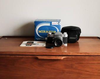 Vintage Miranda Camera w/ Box Sensor X