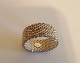 Somerset sterling silver ring sz 9
