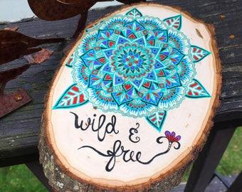 Wild&free Wood Slice