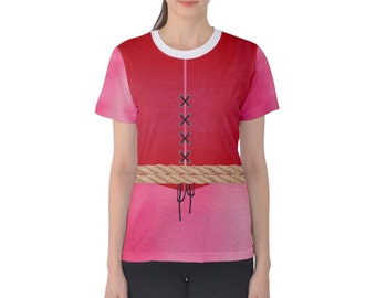 Women's Redhead Pirates of the Caribbean Inspired Shirt