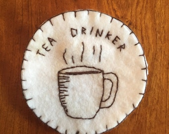 Tea Drinker Patch