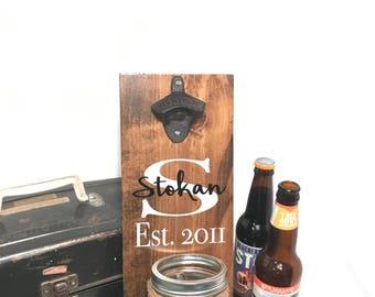 wood bottle opener beer opener wall mount beer bottle opener wood beer sign
