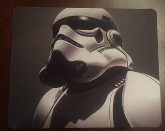 Star Wars Storm Trooper Custom Mouse Pad.