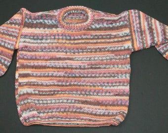 Child's Multi Colour Tunic Sweater 2-3 Years