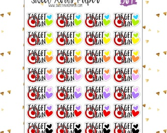 Target Run Planner Stickers   Shopping Stickers   Dollar Spot Stickers   Functional Stickers   369