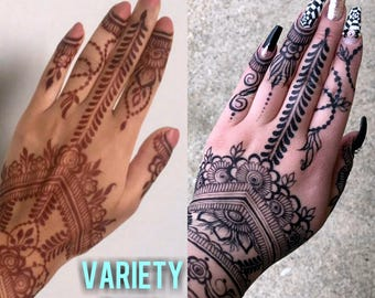 VARIETY PACK - Two Jagua Cones & Three Henna Cones
