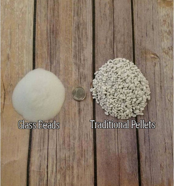 Glass Bead Upgrade, Glass Weight for Weighted Blanket, Alternative to Poly Pellets for Weighted Blanket