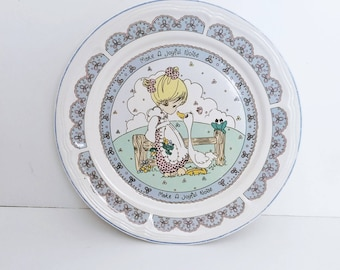 Precious Moments Plate, Make a Joyful Noise 1992
