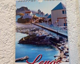 Leros Greece Calendar 2018