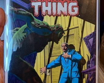 Lot of Vintage Swamp Thing Comics, Alan Moore