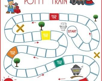 "Potty ""Train"" Game"