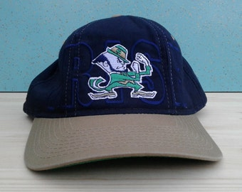 Vintage 90's Starter University of Notre Dame Fighting Irish baseball cap snapback