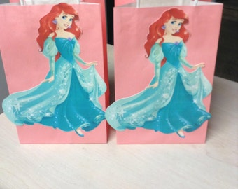 My Little Mermaid Gift Bags