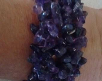 AMETHYST CHIP Bracelet-