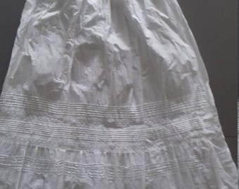 Vintage Baby Cotton Christening Gown