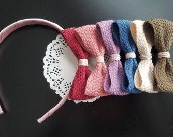 Bow Headband or Hair clip for girl, toddler