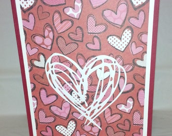 Custom made Valentines Day Greeting Card