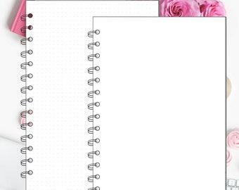 Digital Spiral Procreate Planner Pages - Digital Paper, Digital Planner, GoodNotes, Planner Pages, Spiral Pages, Procreate Planner