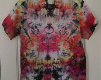 M Psychedelic Tie Dye T-shirt - Medium