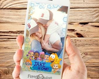 Bubble Guppies Snapchat GeoFilter, Custom Snapchat Filter, Bubble Guppies Party Geofilter, Bubble Guppies Snapchat Filter