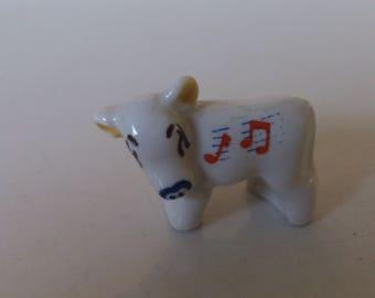 vintage 1950s wade minikin cow