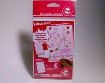 a custom postcard the pink-(cpc12)