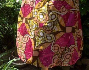 Low waisted miniskirt Wax ball shape