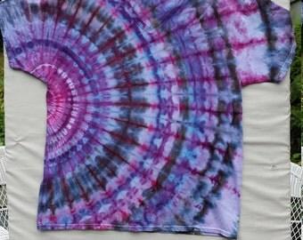 X-Large - FREE Shipping ICE DYE Fan Fold Tie Dye Tshirt