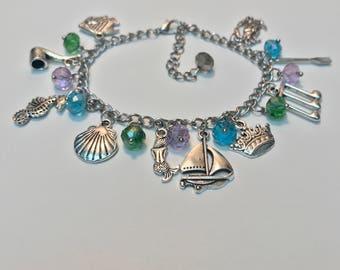 The Little Mermaid Charm Bracelet