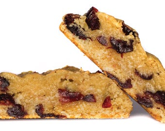 FAMOUS GRAINIS: 12 oatmeal cranberry cookies by Chip Sweettooth