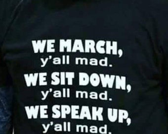 We march yall mad lebron James shirt/ We die y'all slient/black history t-shirts/ Black man is beautiful/Dad and son black