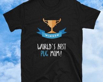 Pug T Shirt, Pug Collectibles, Pug Shirt, Pug Mom, Pug Tee, Pug Lover Gift, Funny Pug Shirt, Pug Clothing, Pug Tee Shirt, Pug Art, Pug Lover