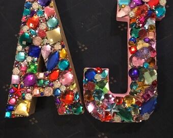 Unique Jewel Letter