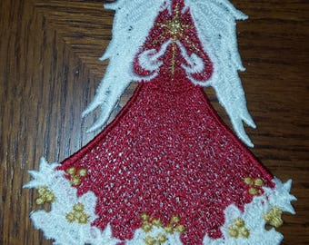 Free Standing Lace Angel of Christmas