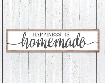 Happiness Is Homemade, Modern Farmhouse, Magnolia Market Stencil, Fixer Upper Vector, Magnolia Farms, Joanna Gaines SVG, Cut File, Sign