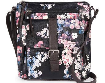Front pocket Crossbody bag with power bank