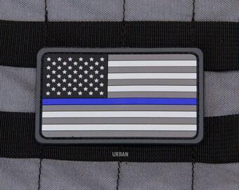 US Flag Thin Line