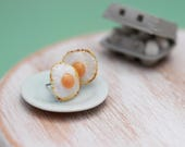 Fried Eggs - Studs / Post Earrings