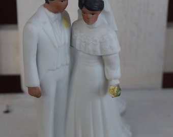 Vintage Wedding Cake Topper-Adoring, wedding cake topper, wedding accessories