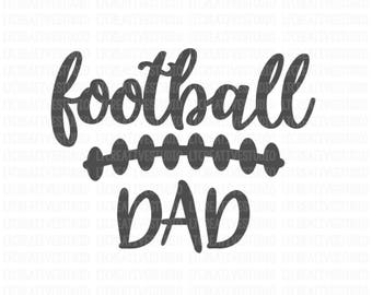 Football Dad SVG, Dxf, Png, Eps, Football SVG, Football Cutting Files, Svg Cutting Files, Cricut Files, Silhouette Files